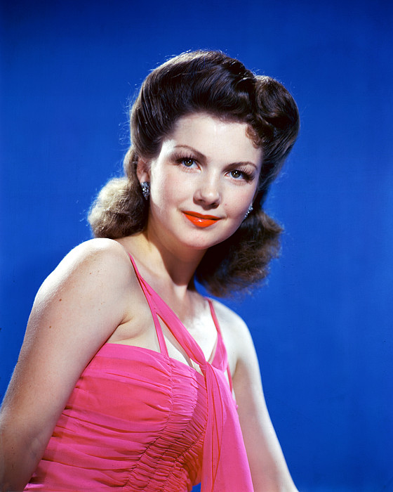 Anne Baxter By Silver Screen