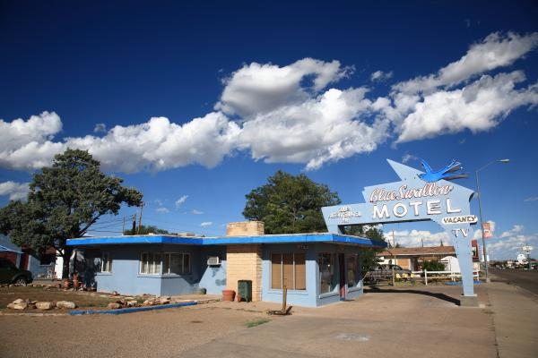 Frank Romeo - Route 66 - Blue Swallow Motel