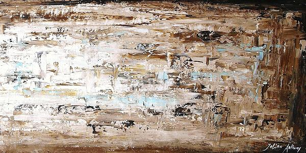 Abstract Painting  Print by Jolina Anthony