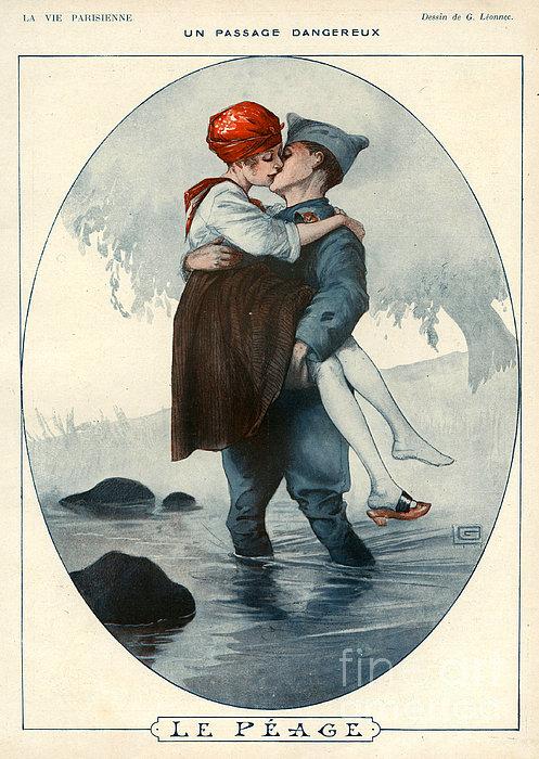 La Vie Parisienne 1918 1910s France Print by The Advertising Archives