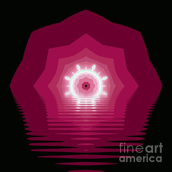 The Kaleidoscope Print by Odon Czintos