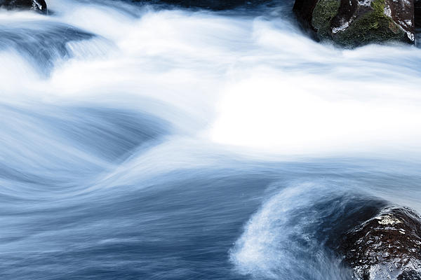 Stream Print by Les Cunliffe