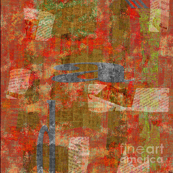 1352 Abstract Thought Print by Chowdary V Arikatla