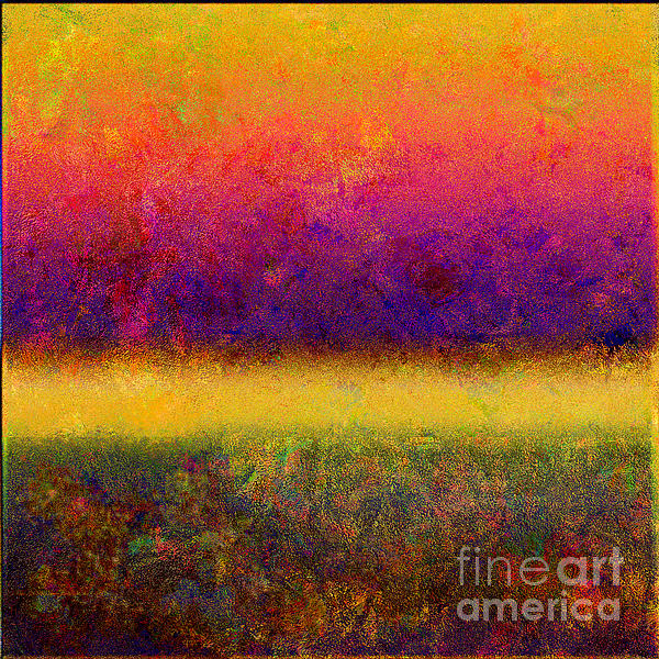 1395 Abstract Thought Print by Chowdary V Arikatla