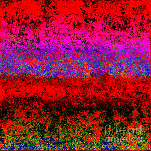 1423 Abstract Thought Print by Chowdary V Arikatla