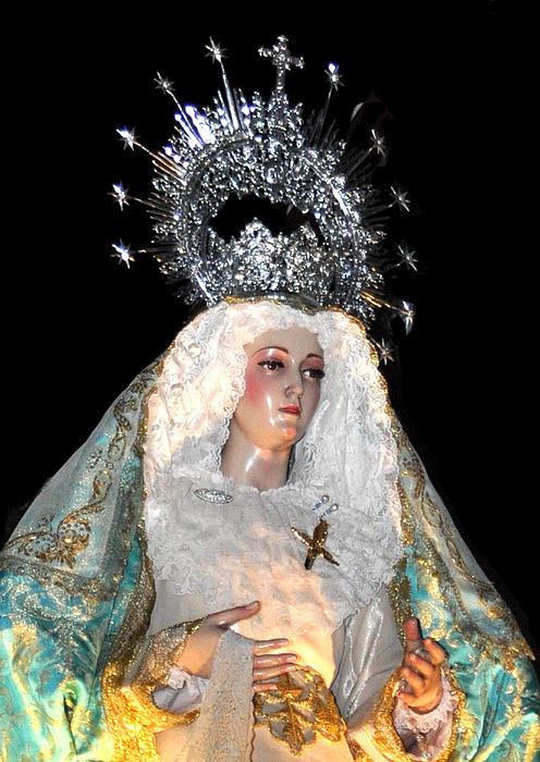 143 Semana Santa In Olvera Print by Patrick King