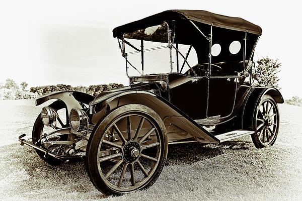 1913 Argo Electirc Model B Roadster Coffee Print by Marcia Colelli