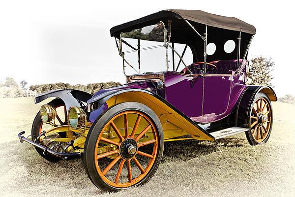 1913 Argo Electric Model B Roadster Print by Marcia Colelli