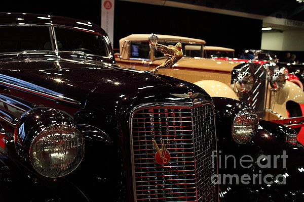 1934 Cadillac V16 Aero Coupe - 5d19877 Print by Wingsdomain Art and Photography