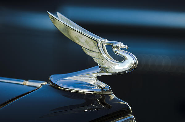 1935 Chevrolet Sedan Hood Ornament Photograph