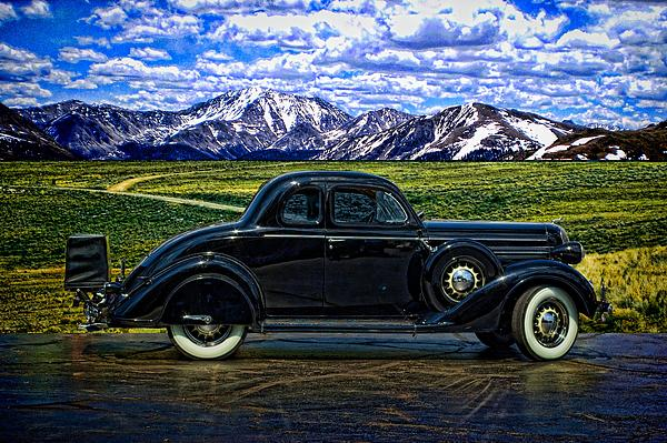 1936 Dodge Business Coupe Print by Tim McCullough
