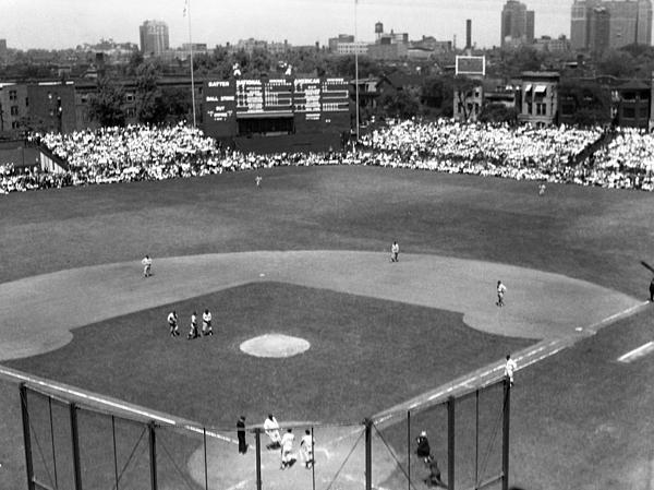 1937 Opening Day At Wrigley Field Print by Retro Images Archive
