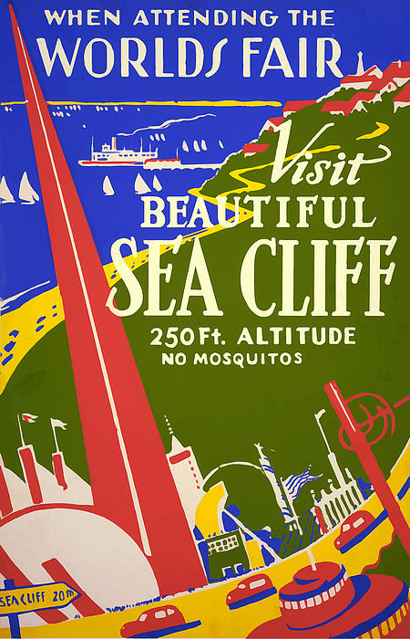1939 Sea Cliff - Worlds Fair Celebration Print by American Classic Art