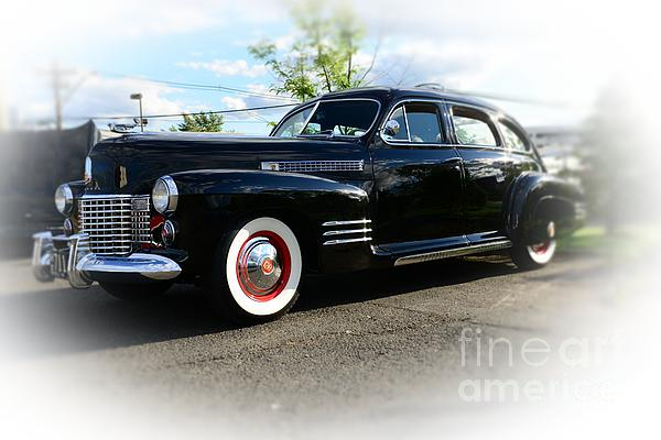 1941 Cadillac Coupe Print by Paul Ward