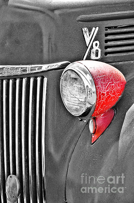 Mary Carol Story - 1944 Ford Pickup - Headlight - SC