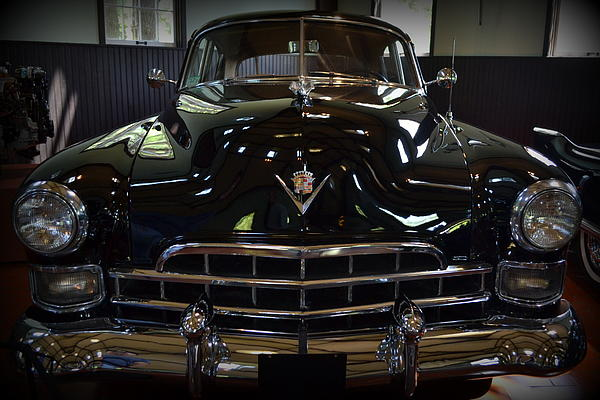1948 Cadillac Front Print by Michelle Calkins