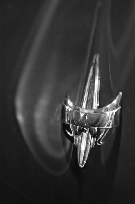 1949 Mercury Woody Wagon Hood Ornament 2 Print by Jill Reger