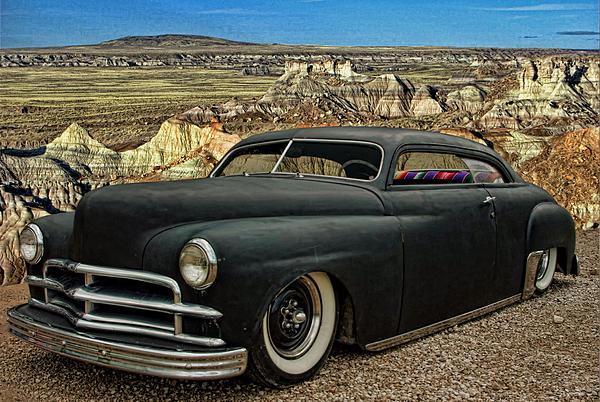1949 Plymouth Low Rider Print by Tim McCullough