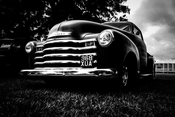 1951 Chevy Pickup Print by motography aka Phil Clark