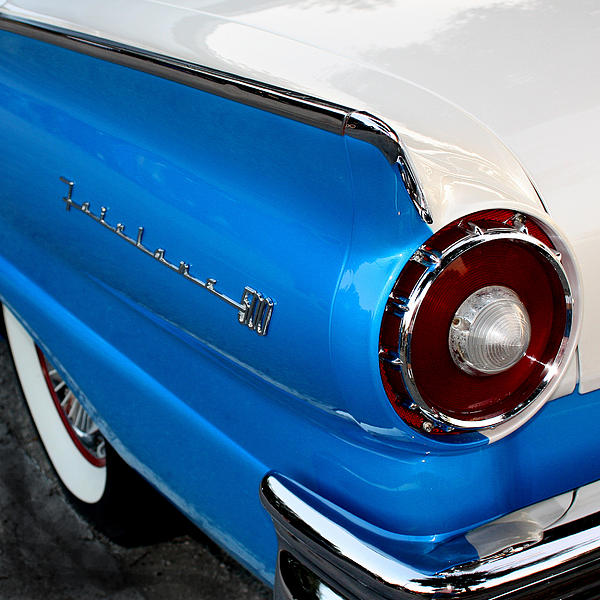 1957 Ford Fairlane 500 Print by Dorothy Menera