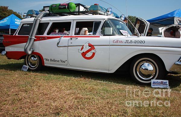 John Telfer - 1958 Ford Suburban Ghostbusters Car