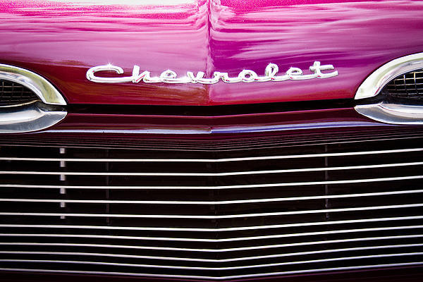 1959 Chevy Biscayne Print by David Patterson