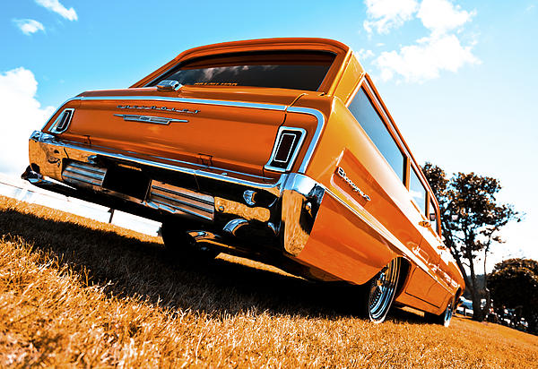 1964 Chevrolet Biscayne Print by motography aka Phil Clark