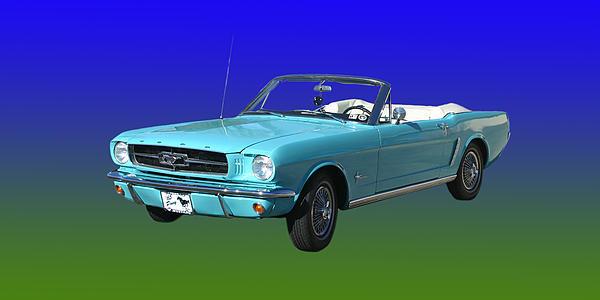 1965 Mustang Convertible By Jack Pumphrey