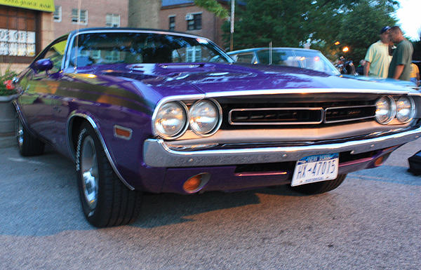 John Telfer - 1971 Challenger Front and Side View