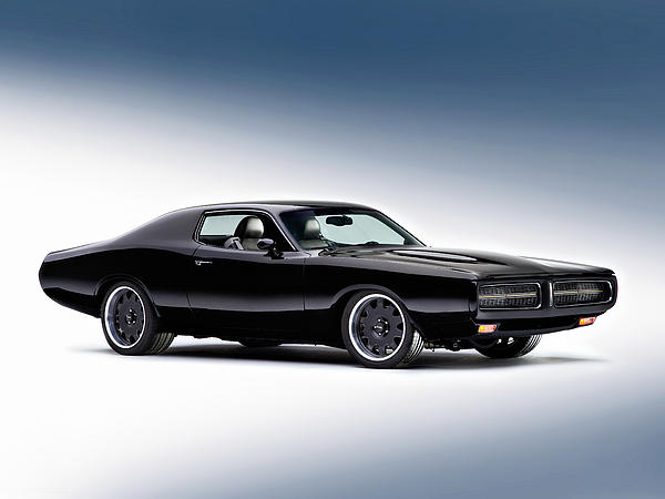 1972 Dodge Charger Print by Gianfranco Weiss