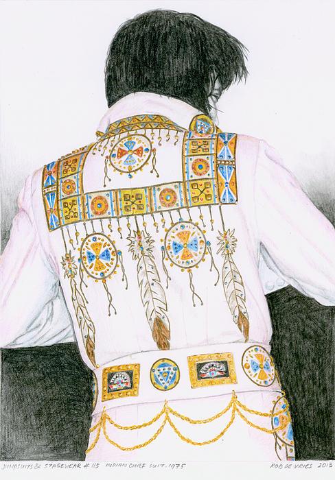 1975 Indian Chief Suit Print by Rob De Vries