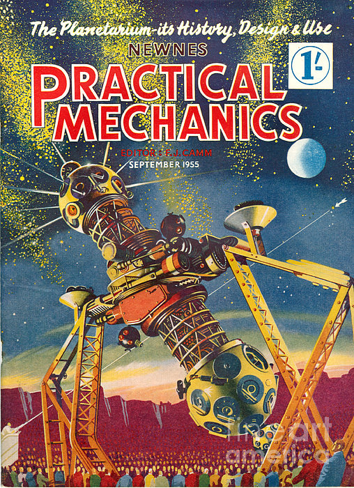 1950s Uk Practical Mechanics Magazine Print by The Advertising Archives