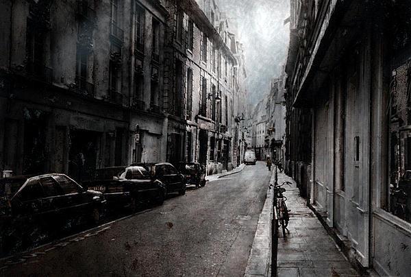 A Walk Apart Print by David Fox