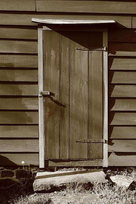 Barn Door Print by Frank Romeo