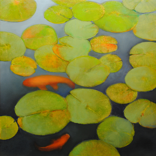 Big Koi Print by Cap Pannell