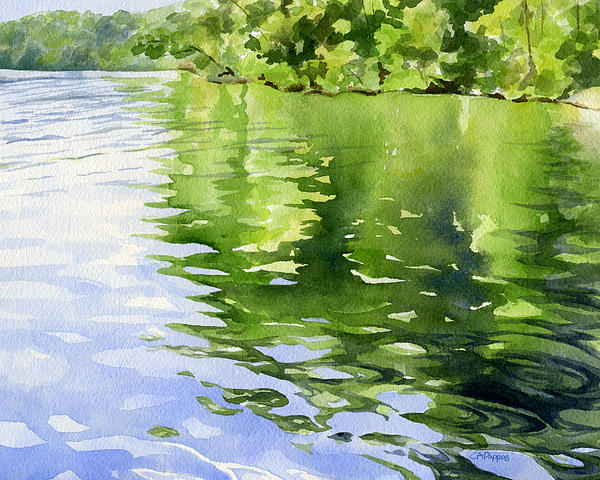 Carolyn A Pappas - Blue Green Waters