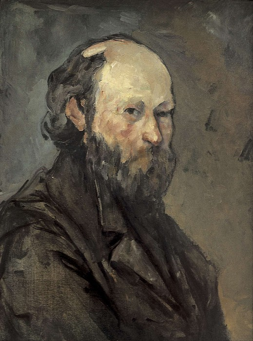 Cezanne, Paul 1839-1906. Self-portrait Print by Everett