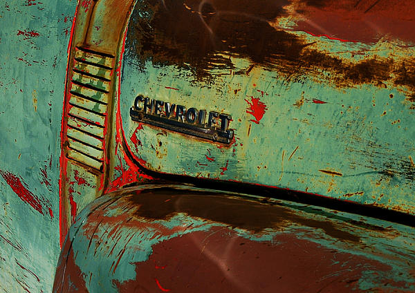 Chevrolet Print by Gia Marie Houck