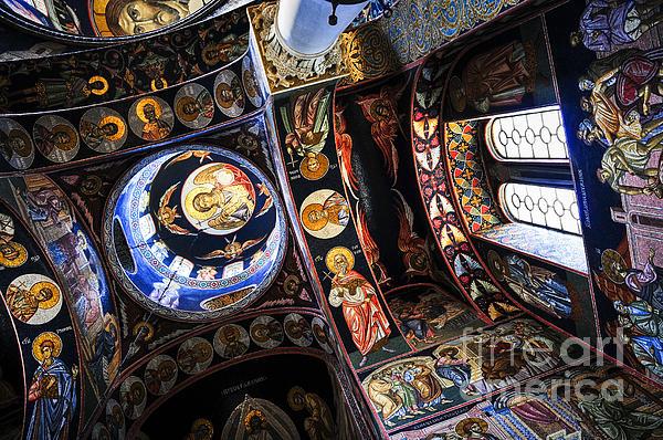 Church Interior Print by Elena Elisseeva