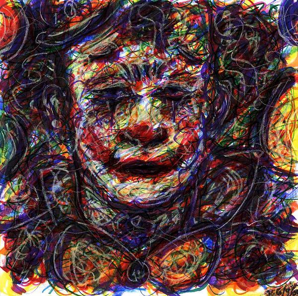 Rachel Scott - Clown with Balloons
