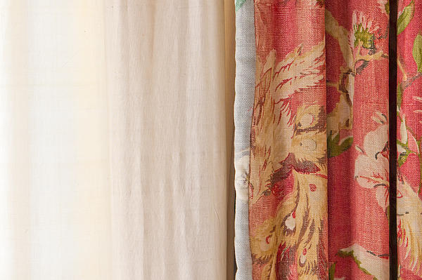 Curtains Print by Tom Gowanlock