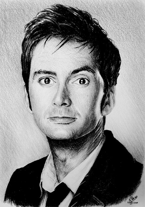 David Tennant Print by Andrew Read