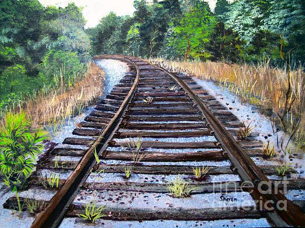 Sharon Burger - Disappearing Railroad blues