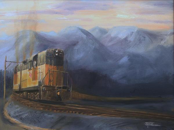 East Of The Belt Range Print by Christopher Jenkins