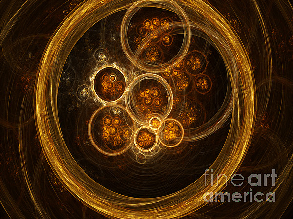 Fractal Flames Print by Scott Camazine