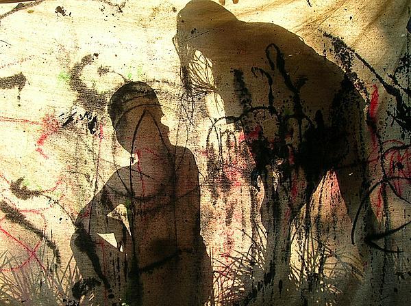 2 Girls Print by Dietrich ralph  Katz