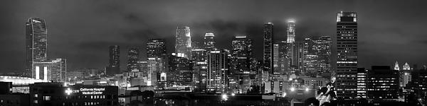 Jon Holiday - Gotham City - Los Angeles Skyline Downtown at Night