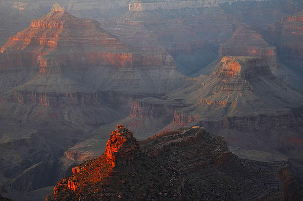 Stephen  Vecchiotti - Grand Canyon Alpenglow
