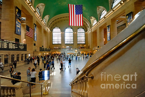 Grand Central Station New York City Print by Amy Cicconi