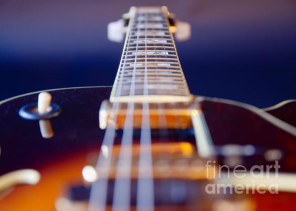 Guitar Print by Stelio Photography